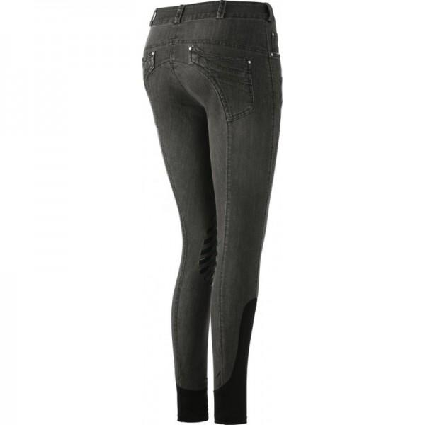 Jeans Reithose Grau