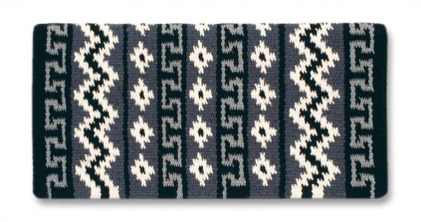 Mayatex Blanket Inka Trail Schwarz