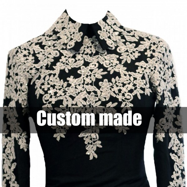 "Showshirt ""LACE"" Custom Made"