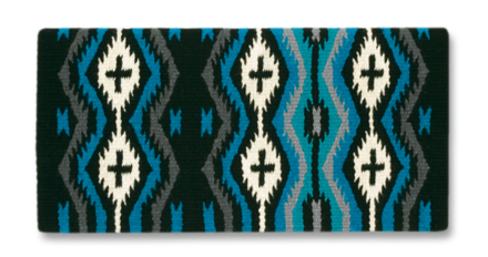 Mayatex Blanket Las Cruces Showtack Türkis