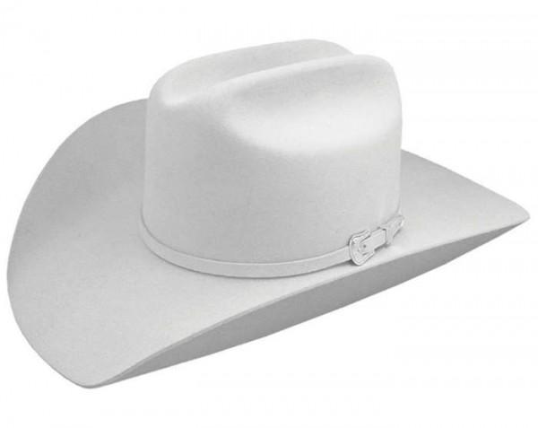 Western Showhut Rodeo King 10x Weiß