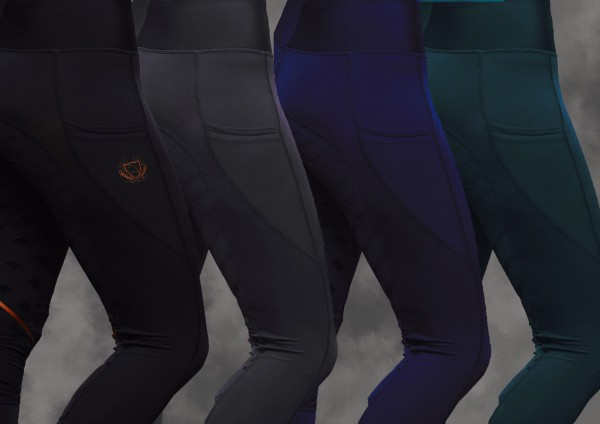 Reit-Leggings Winter gefüttert