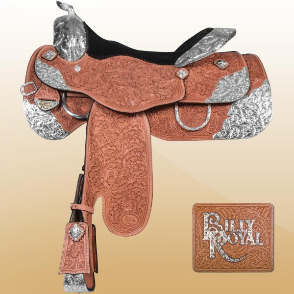 Billy Royal® Santa Ana Show Saddle