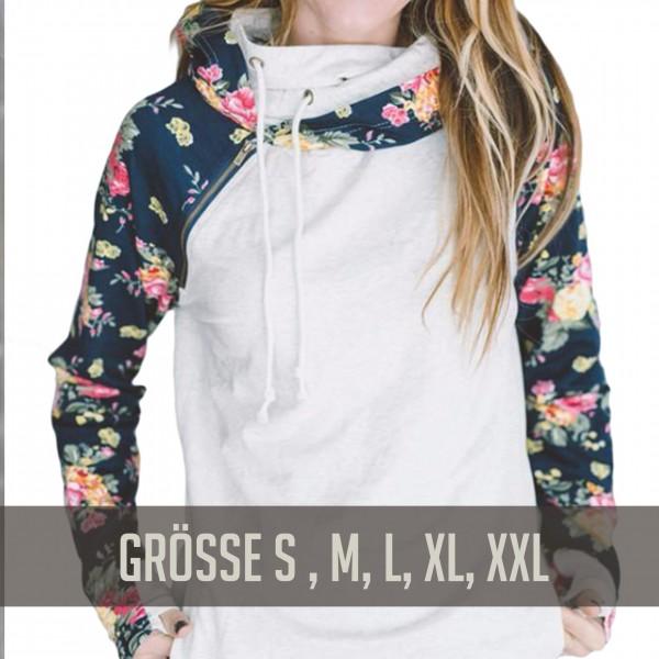 Sweatshirt Cream / Floral