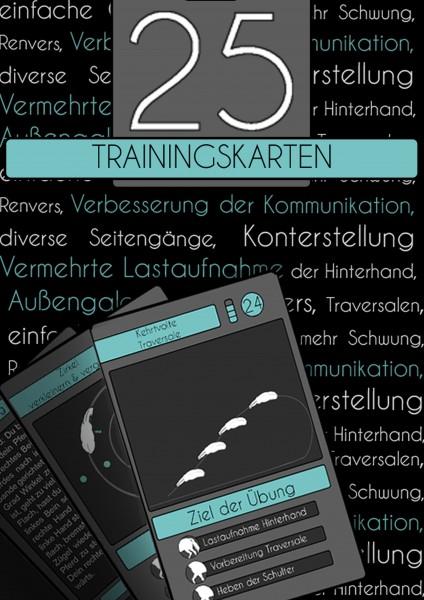 25 Trainingskarten Reiten  Übungen Reiten Reitübungen Reitideen Geschenk Reiter