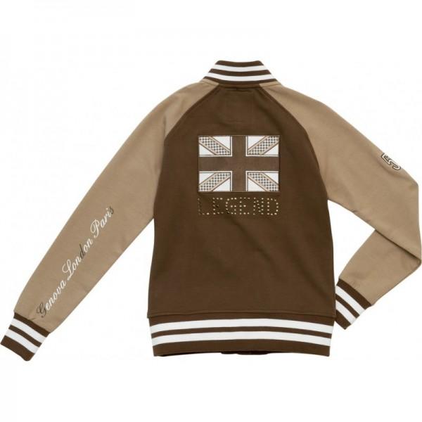 Sweatshirt Jacke Legend Braun