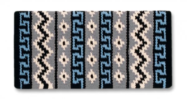 Mayatex Blanket Inka Trail Hellblau