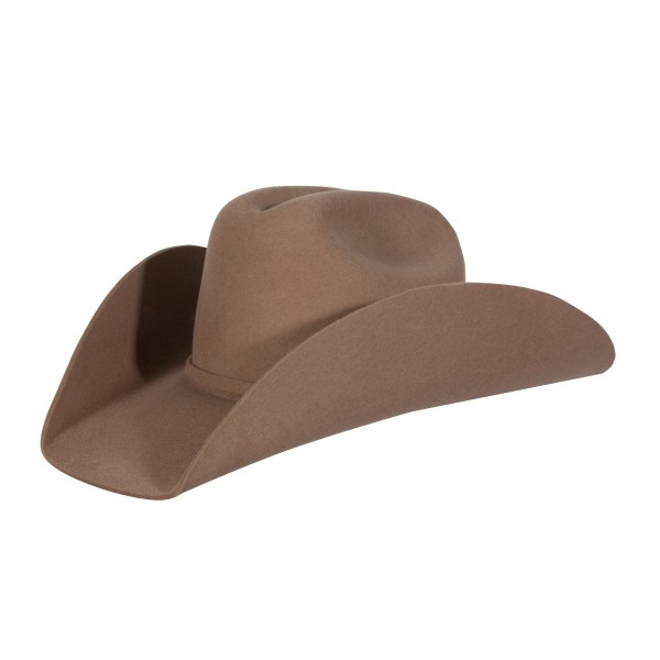 Western Showhut Rodeo King 3x Pecan Gr 7