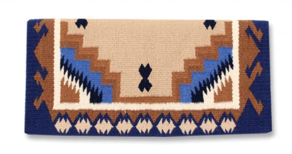 Mayatex Blanket Haymaker Showtack Blau