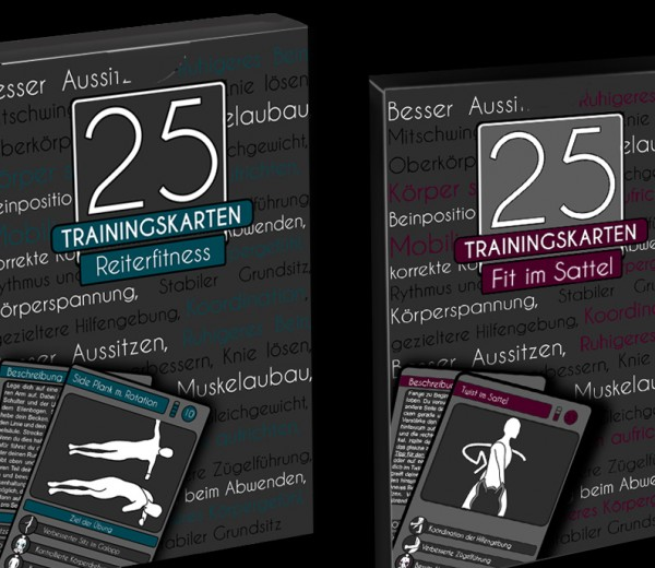 Reiterfitness fit im Sattel 25 Trainingskarten
